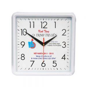 Đồng hồ quảng cáo khung vuông