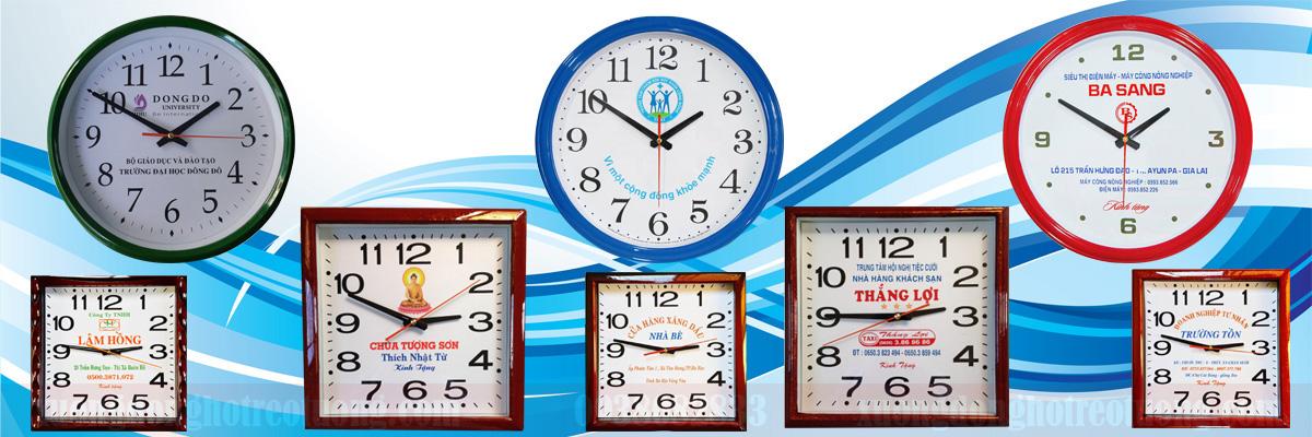 Các mẫu đồng hồ in logo phổ biến